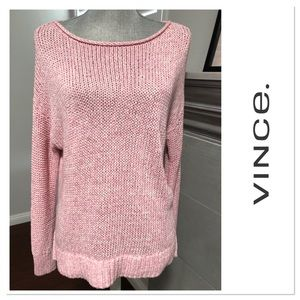 Brand new NWT VINCE. sweater shades of pink
